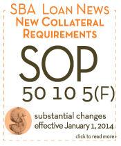 SOP 50 10 5 F SBA Loan Collateral Requirements